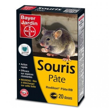 souris pate appat 200 g bayer. Black Bedroom Furniture Sets. Home Design Ideas