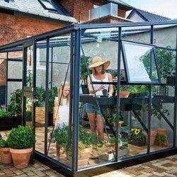 Serre en verre trempé Veranda 4,4m²