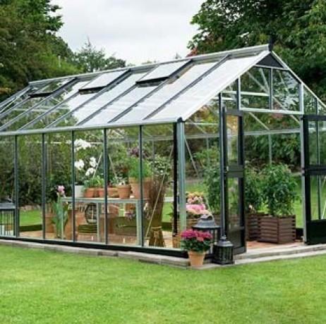 Serre en verre trempé Gardener 21,4m²
