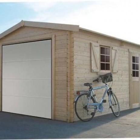 GARAGE TRADITIONNEL 17,07m² avec porte motorisée