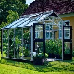 Serre en verre trempé Premium 8,8m²