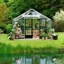 Serre en verre trempé Gardener 16,2m²
