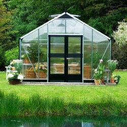 Serre en verre polycarbonate Gardener 18,8m²