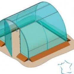 Serre tunnel Richel 9m² largeur 3 m x 3 m