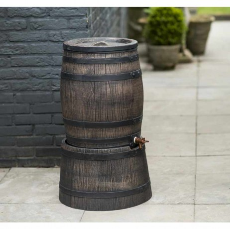 Récupérateur d'eau barrique 120 litres