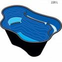Bassin préformé Calmus 145/220 L