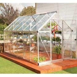 Serre de jardin en polycarbonate Harmony 6,84 m²