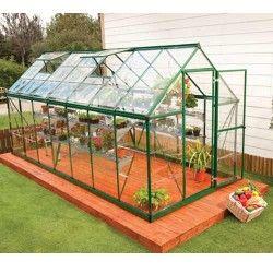 Serre de jardin en polycarbonate Harmony 7,95 m²