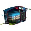 Kit filtre à 2 chambres modulaires Filtramax