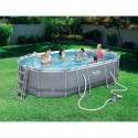 Kit piscine ovale Power Steel Frame IV