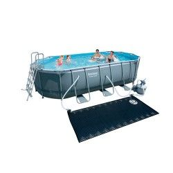 Kit piscine ovale Power Steel Frame V - PREMIUM