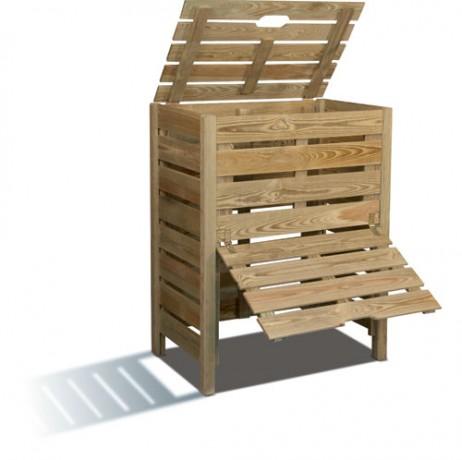 Composteur en bois 400 L