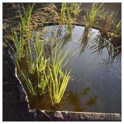 Bordure pour jardin et bassin en rouleau - 15 m x H.14 cm