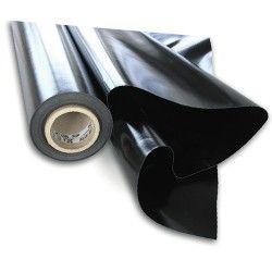 Film 150 microns noir opaque