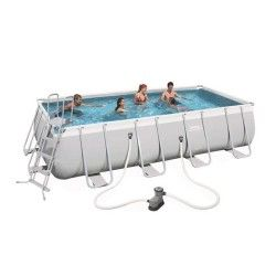Kit Piscine Rectangulaire Power Steel Frame Pools L 549 x l 274 x H 122cm