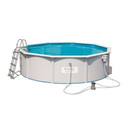 Kit piscine ronde Steel Wall Pool ø460 cm